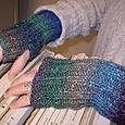 Andrea's wrist warmers