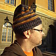 Another Brim Ribbed Hat
